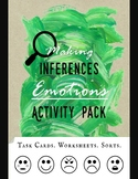 Making Inferences: Emotions Activity Pack - Task Cards, Wo
