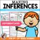 Making Inferences Worksheets - Fiction Bundle