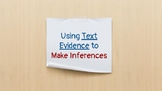 Making Inferences From Text PowerPoint (PDF)