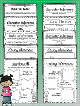 Making Inferences Graphic Organizers- $1.00 ONLY!