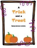 Making Inferences Halloween Activities