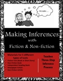 How to Infer and Make Inferences with Fiction or Non-Fiction