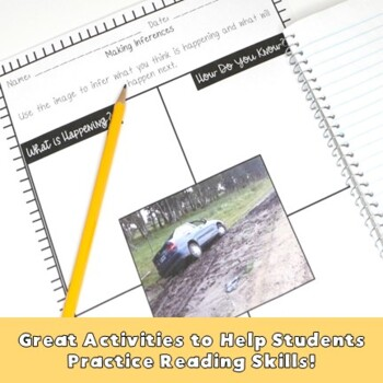 Inferences Interactive Notes & Worksheets
