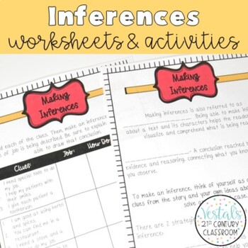 Making Inferences Interactive Notes & Worksheets