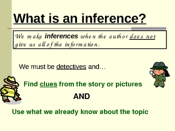 Making Inferences Interactive PowerPoint Presentation