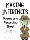 Making Inferences with Poems
