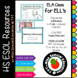 Making Inferences Lesson for ESOL, ELL, ESL (Powerpoint Show & PDF)