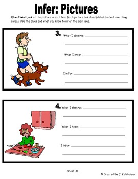 Making Inferences: Lessons and Printables