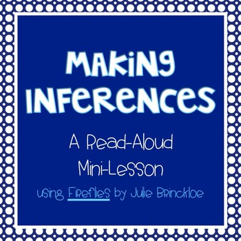 FREE Making Inferences Mini-Lesson and Poster, Common Core Reading