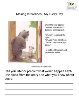 Making Inferences - My Lucky Day