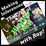 Making Inferences Nonfiction Reading Activity Using Hip Hop History, Rap Song #3