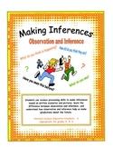 Making Inferences - Observation vs Inference