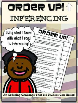 Making Inferences - Order Up!- Set 1