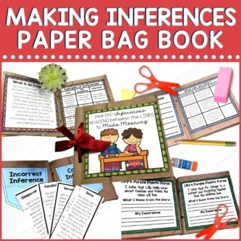 Children need lots of practice with making inferences. Check out this fun and exciting hands on project for making inferences! This paper bag mini book project offers multiple instructional activities for teaching and practicing inferring. It can be used one section at a time to build the book over a week, as a group for modeling, individually in small group, or as a literacy work station.