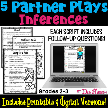 Making Inferences Partner Plays (2nd and 3rd grades)
