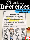 Making Inferences Reading Passages & Printables