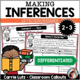 Making Inferences Passages with Graphic Organizers