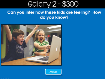 Making Inferences - Photos - Jeopardy Style Game Show