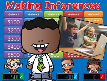 Making Inferences - Photos