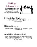 Making Inferences Poster Handout