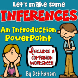 Inferences PowerPoint with Distance Learning Options