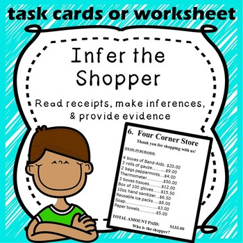 Inferencing Practice: Infer the Person