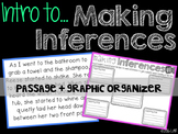 Making Inferences: Practice Passage and Graphic Organizer