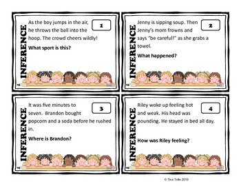 Making Inferences Primary Task Cards