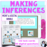 Making Inferences Print and Digital Bundle for Speech Therapy