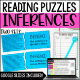 Making Inferences Puzzles | 4th and 5th Grade Reading Center