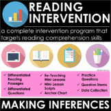 Making Inferences - Reading Comprehension Passages and Questions - Intervention