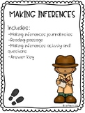 Making Inferences- Reading Passage, Activity, and Questions