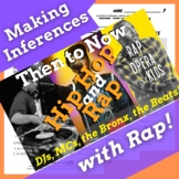 Making Inferences Nonfiction Reading Activity Using Hip Hop History, Rap Song #2