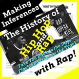 Making Inferences Nonfiction Reading Activity with History of Hip Hop Rap Song 1