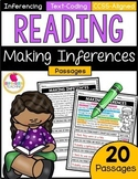 Making Inferences Reading Passages | PDF & GOOGLE SLIDES |