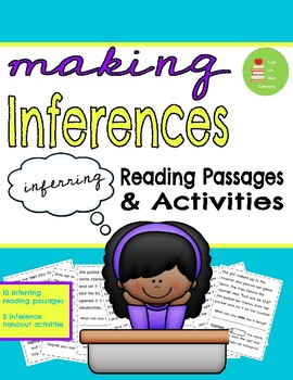 Making Inferences Reading Passages, Activities, & Handouts ~ Context Clues