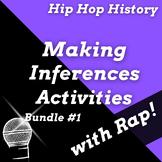 Making Inferences Reading Passages Questions, Hip Hop & Rap Music History Bundle
