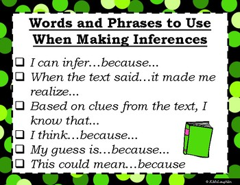 Making Inferences {Reading Resource}
