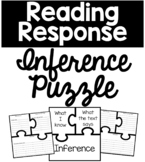 Making Inferences Puzzle Reading Response Graphic Organizer