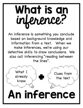 Making Inferences Reading Strategy and Fun Interactive Mystery Game