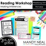 Making Inferences Reading Workshop Unit