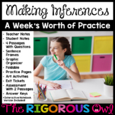 Making Inferences Lesson and Week's Worth of Practice