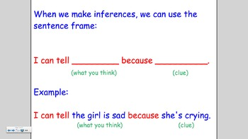 Making Inferences Smartboard Lesson