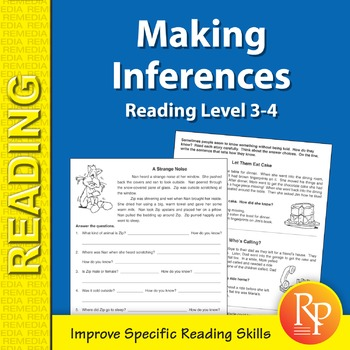 Making Inferences: Specific Reading Skills Activities