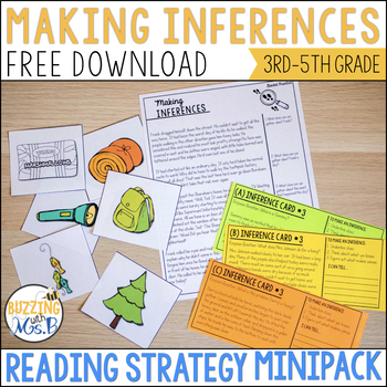 Making Inferences Strategy MiniPack Freebie