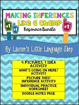 Making Inferences Student Activity Bundle