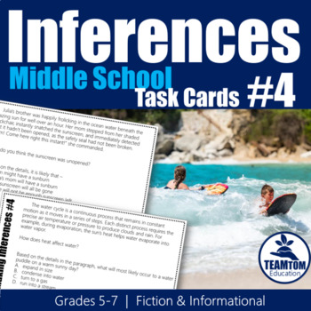 Making Inferences Task Cards 2 (Grades 5-7)