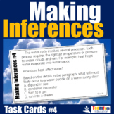 Making Inferences Task Cards #4 (Making Predictions)