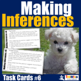Making Inferences Task Cards #6 (STAAR Informational)
