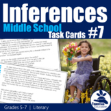 Making Inferences Task Cards 7 Literary (Grades 5-7)